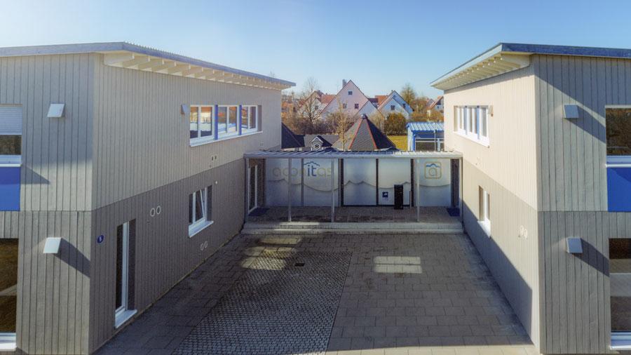 aconitas GmbH - Gebäude Mertingen