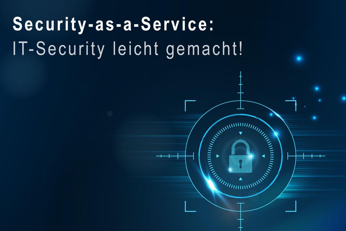 Eine umfassende IT-Security ist die Voraussetzung für ein funktionales und aufstrebendes Unternehmen. Gleichwohl sorgen eine sich stündlich fortentwickelnde Bedrohungssituation, der andauernde Mangel an Fachpersonal wie die teils mangelnden technischen Ressourcen dafür, dass IT-Security-Risiken und Gefahren aus dem Internet stetig schwieriger zu beherrschen und zu entschärfen sind. In diesem Zusammenhang kommen Security-as-a-Service-Lösungen in Frage. Durch den diensteorientierten Angang ist es Betrieben möglich, die IT-Sicherheit ganz oder nur partiell in qualifizierte Hände zu legen und dabei nicht alleinig die internen IT-Sicherheitsmitarbeiter zu entlasten, sondern auch mit den zunehmenden IT-Bedrohungen in der digitalen Ära Stand zu halten.